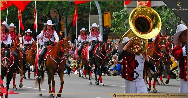 Đặc trưng văn hóa Canada thông qua các lễ hội