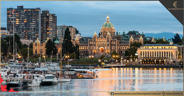 Du học và định cư tại Canada bang British Columbia